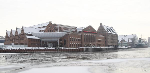 Gdanskie Centrum Muzyczno-Kongresowe na Ołowiance