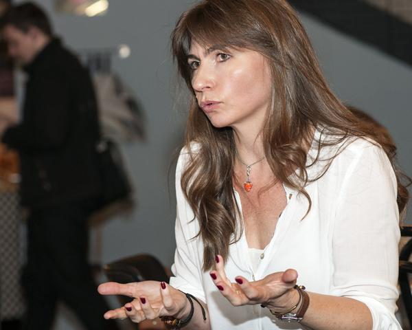 Grażyna Plebanek, fot. Anna Kolasińska